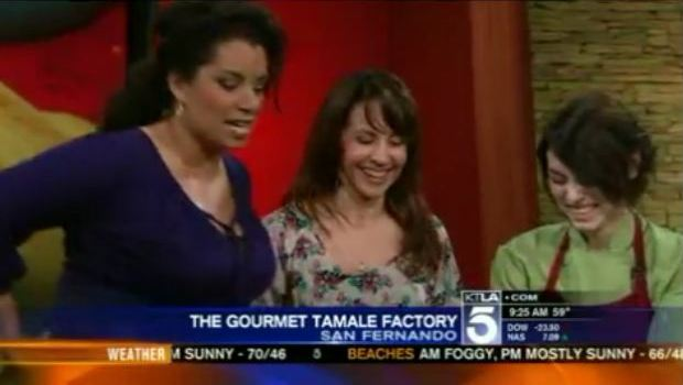 tamales Gourmet Tamale Factory on KTLA News