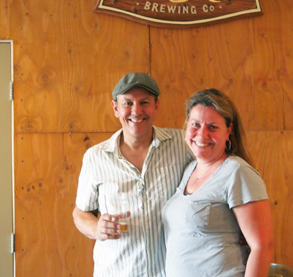 MacLeod Ale Brewing Co. owners, Alastair Boase and Jennifer Febre Boase